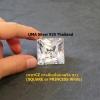 เพชรCZ ทรงสี่เหลี่ยมจตุรัส ขาว (SQUARE or PRINCESS White) - Size 3.5x3.5mm - 1แพ็ค - 200เม็ด