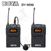 Microphone BOYA BY-WM6 UHF 48 Channels Pro wireless Microphone