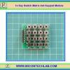 1x Key Switch Matrix 4x4 Keypad Module