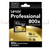 Memory CF Lexar Professional 16GB 800X