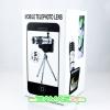 เลนส์เสริมเทเล ซูม 12x สำหรับ iPhone 5 พร้อมเคส ขาตั้ง มือถือ Len zoom 12x ใช้งานง่ายพกพาสะดวกสุดๆ