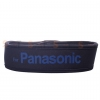 สายคล้องกล้อง Panasonic blue on Red Black Strap Neoprene