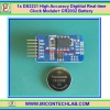 1x DS3231 High Accuracy Real Time Clock (RTC) AT24C32 Memory + CR2032 Battery