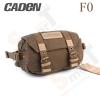 กระเป๋ากล้องขนาดเล็ก Caden F0 สีน้ำตาลเข้ม (Dark Brown)