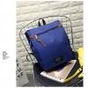 กระเป๋าเป้ Pocket Flap style สีน้ำเงิน