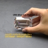 เพชรCZ ทรงสี่เหลี่ยมมุมตัด สีขาว (OCTAGON White) - Size 8x8mm - 1แพ็ค - 100เม็ด