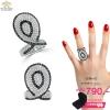 แหวนเงิน ประดับเพชร CZ แหวนทรงนางพญา มันอลังสะใจเพชรสวย รอสาวๆ ลุคสวยเปรี้ยวเซี้ยวมารับตัวไปอยู่ด้วยนะจ๊ะ