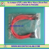 1x Jumper (F2F) cable Wire 20 cm 10pcs Red color (Female to Female)