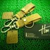 พวงกุญแจหนังแท้ Homme's