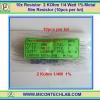 10x Resistor 2 KOhm 1/4 Watt 1% Metal film Resistor (10pcs per lot)