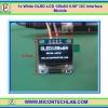 "1x White OLED LCD 128x64 0.96"" I2C Interface Module"