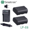 Battery Smatree LP-E6 Set (2-Pack) and Charger