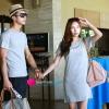 ชุดคู่รักเกาหลี เดรสคู่รัก สีเทา ผู้ชายเสื้อยืดเนื้อดี ผู้หญิง เดรสผ้ายืดอย่างดี พอดีตัว ผ้านิ่มมากค่ะ