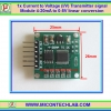 1x Current to Voltage (I/V) Transmitter signal Module 4-20mA to 0-5V linear conversion