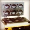 เตาวาฟเฟิ้ลปลา6ตัว ไฟฟ้า สำหรับพื้นที่ค้าขายที่ห้ามใช้แก๊ส