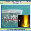 10x LED 5mm Yellow Water Clear Super Bright (10pcs per lot)