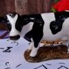 ตุ๊กตาเซรามิค วัวนม