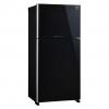 ตู้เย็น 2 ประตู SHARP SJ-X600GP-BK 21.2Q กระจกดำ ใหม่ประกันศูนย์ โทร 097-2108092, 02-8825619, 063-2046829