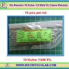 10x Resistor 10 Kohm 1/4 Watt 5% Cabon Resistor