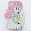 Case iPhone เคสไอโฟน 5 Crystal Case ลาย Kitty