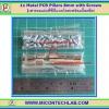 12x เสารองแบบเหลี่ยม 8 มม. 24x สกรู M3 (Pillars 8 mm)