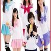 ชุดนักเรียนญี่ปุ่น แบบแขนยาว