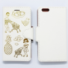 TABOM MARKET WHITE IPHONE 6 PLUS FLIP CASE