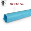 แผ่น PVC Background 68x130 cm สีฟ้า
