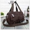 กระเป๋าเนื้อ kipling + สะพาย ใบเล็ก สีน้ำตาล