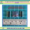 1x Logic Level I2C IIC Converter 4-Channel 5.0 to 3.3V converter