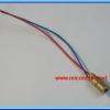 1x Laser diode module (5Vdc 650nm 5mW) laser pointer module