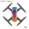 PGYTECH D4 Sticker skin for DJI Spark series colorful and bright 3M scotchcal film waterproof