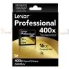 Memory CF Lexar Professional 16GB 400X