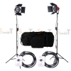 Light Set with 2 Set Red head Continuous Lighting with Dimmer