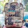 กระเป๋าเป้ + โน๊ตบุ๊ค เนื้อด้าน