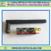 1x NRF24L01 2.4GHz +PA+LNA SMA Antenna Wireless Transceiver communication module