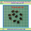 10x Female Pin Header 1x2 Pin Single Row Pitch 2.54mm (10pcs per lot)