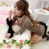 Pre Order / ชุดบอดี้สูธ ผู้หญิงแมวเสือดาวเซ็กซี่ (ชุด + ข้อมือ)