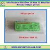 100x Resistor 500 Kohm 1/8 Watt 1% Metal film Resistor (100pcs per lot)