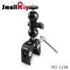 "SMALLRIG® Multi-function Double BallHead with Clamp & 1/4"" Screw 1138"