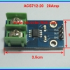 1x ACS712-20 Current sensor ACS712 20 Amp Screw Terminal module