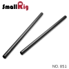 SMALLRIG® 15mm Carbon Fiber Rod - 30cm 12 inch (2pcs) 851