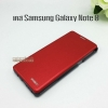 เคส Samsung Galaxy Note 8 สีแดง Flip cover XUNDD