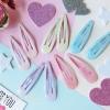 กิ๊บคู่ เนื้อ Jelly Glittle Candy Color HR90044