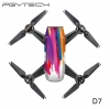 PGYTECH D7 Sticker skin for DJI Spark series colorful and bright 3M scotchcal film waterproof