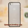 Case iPhone 4/4s iPhone 5 iPhone6/6plus ขอบสีดำ ด้านหลังสีขุ่น