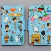 AURORE & FRIENDS FLIP CASE FOR GALAXY NOTE 2