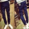 PRE-ORDER กางเกงยีนส์ขายาวแฟชั่นใหม่ กางเกงยีนส์ยืดขายาวเข้ารูปจั๊มขา ออกแบบลุคแนวชิวๆ แฟชั่นทันสมัย