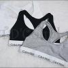 พร้อมส่ง เสื้อกล้าม(บรา)ทรง Sport Bra/G-STRING CK ผ้าฝ้ายยืดออกแบบแฟชั่นขอบขาวสวย
