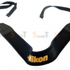 สายคล้องกล้อง Nikon Yellow on Black Neck Strap Neoprene